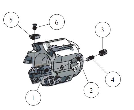 montaggio F555
